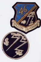 46th / 72nd insignias